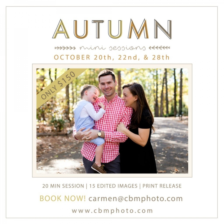 birmingham alabama fall mini sessions children and family