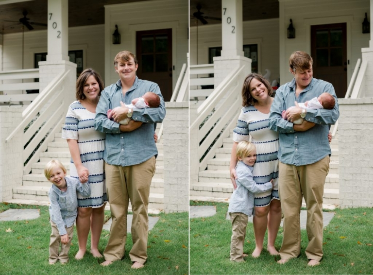 homewood alabama exterior family photography