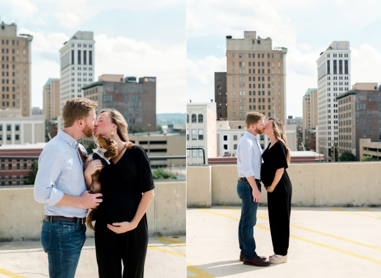 rooftop photos in birmingham alabama maternity